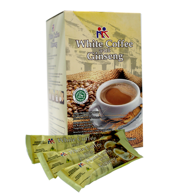 White Coffee with Ginseng